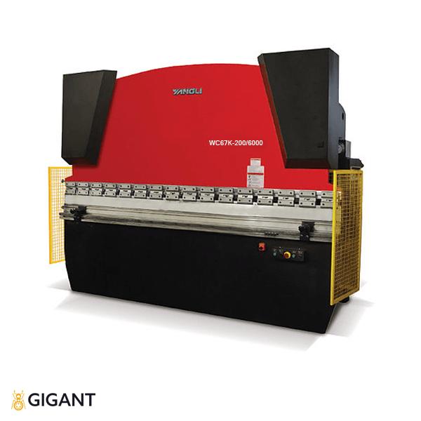 Гидравлическая листогибочная машина (пресс) ORK WC67K-200/6000