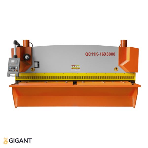 Гильотина гидравлическая STALEX QC11K-16x8000